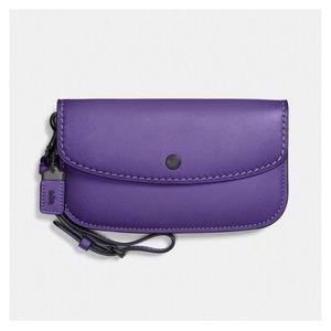 NWT! Coach 1941 Clutch Wristlet Wallet Violet